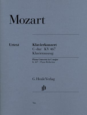 MOZART - Piano Concerto No. 21 in C major K 467 - Sheet Music - di-arezzo.com