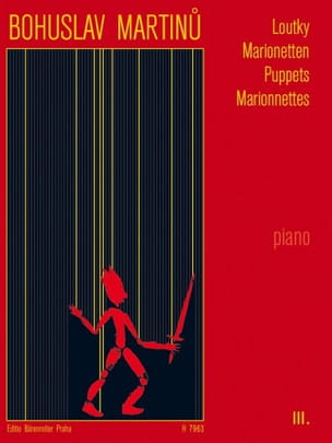 Loutky Volume 3 MARTINU Partition Piano - laflutedepan