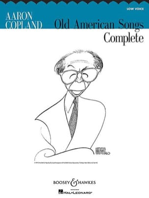 Aaron Copland - Complete Old American Songs. Vx Grave - Partition - di-arezzo.fr