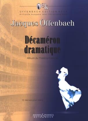 Jacques Offenbach - Décaméron Dramatique - Partition - di-arezzo.fr