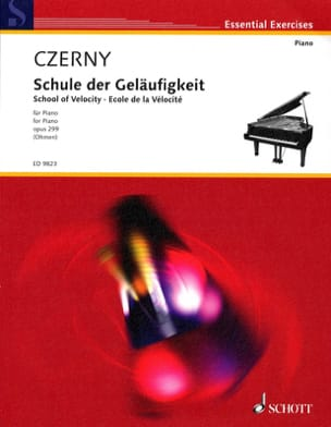 CZERNY - School of Opus Velocity 299 - Sheet Music - di-arezzo.co.uk