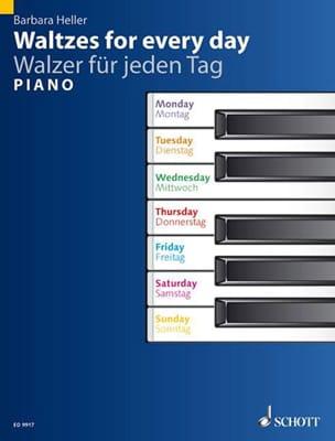 Walzer Für Jeden Tag Barbara Heller Partition Piano - laflutedepan