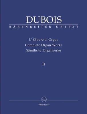 Théodore Dubois - Orgelarbeit. Band 2 - Noten - di-arezzo.de