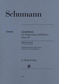 Robert Schumann - Liederkreis Opus 24 - Partition - di-arezzo.fr