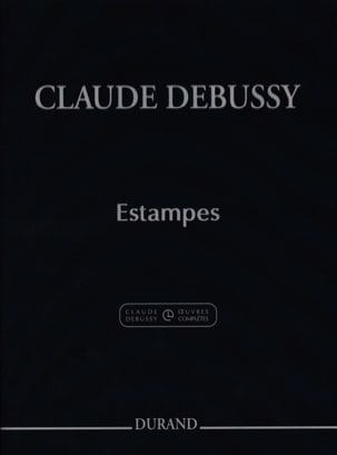 Estampes DEBUSSY Partition Piano - laflutedepan