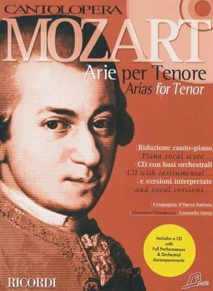 MOZART - Arie Per Tenore - Partition - di-arezzo.fr