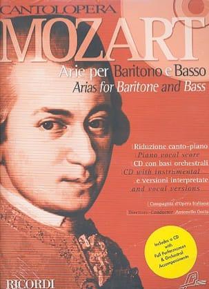 MOZART - Arie Per Baritono E Basso - Sheet Music - di-arezzo.co.uk