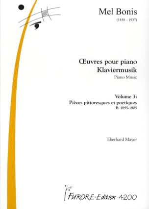 Mel Bonis - Piano Works Volume 3 - Sheet Music - di-arezzo.co.uk