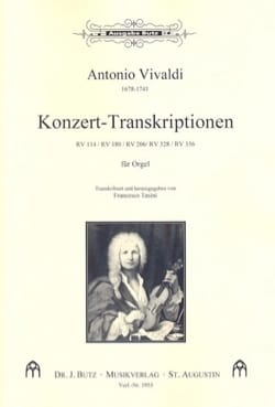 Konzert Transcriptionen - VIVALDI - Partition - laflutedepan.com