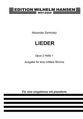 Lieder Op. 2 Volume 1. Voix moyenne - laflutedepan.com