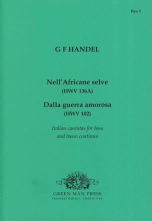 Georg-Friedrich Haendel - Italienische Kantaten Für Bass - Partition - di-arezzo.fr