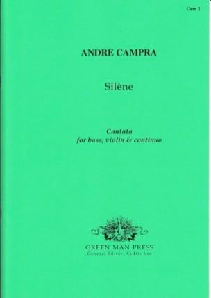 André Campra - Silène - Partition - di-arezzo.fr