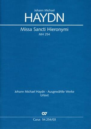 Michael Haydn - Missa Sancti Hieronymi Mh 254 - Sheet Music - di-arezzo.co.uk