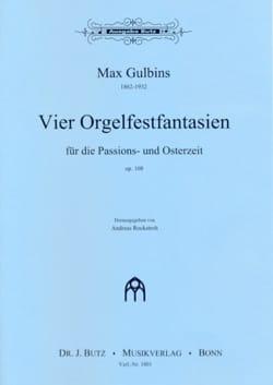 4 Orgelfantasien Für Die Passions-Und Osterzeit Op. 108 laflutedepan