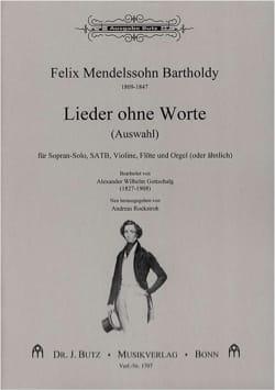 MENDELSSOHN - Lieder Ohne Worte (Auswahl) - Sheet Music - di-arezzo.co.uk