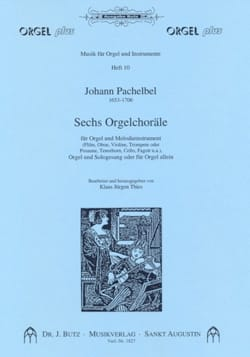 Johann Pachelbel - 6 Orgelchoräle - Sheet Music - di-arezzo.co.uk