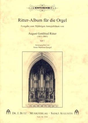 Ritter-Album Für Orgel Volume 1 - Partition - di-arezzo.fr