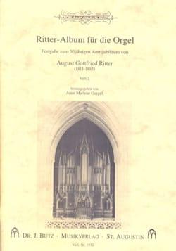 Ritter-Album Für Orgel Volume 2 - Partition - laflutedepan.com