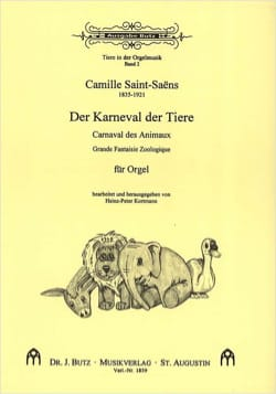 Camille Saint-Saëns - Carnival of the Animals. Organ - Sheet Music - di-arezzo.com