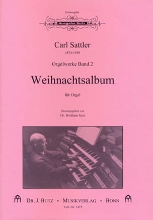 Carl Sattler - Weihnachtsalbum - Partition - di-arezzo.fr