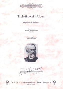 Album TCHAIKOVSKY Partition Orgue - laflutedepan