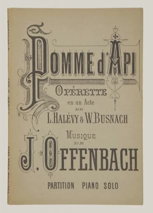 Jacques Offenbach - Small apple - Sheet Music - di-arezzo.com