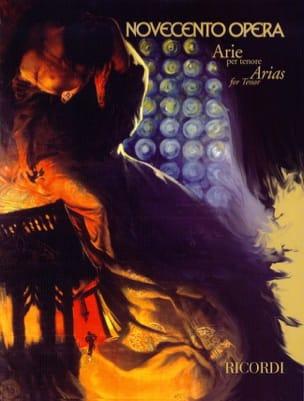 Novecento Opera Arie Per Tenor - Sheet Music - di-arezzo.co.uk