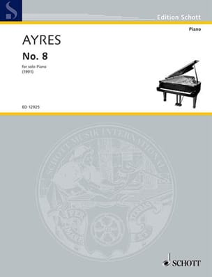 Richard Ayres - N° 8 Piano (Solo) - Partition - di-arezzo.fr