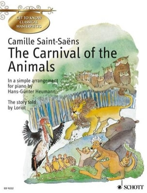 Camille Saint-Saëns - The Carnival of the English Animals - Sheet Music - di-arezzo.co.uk