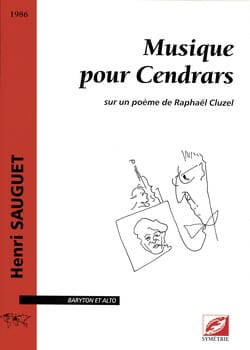 Henri Sauguet - Music For Cendrars - Sheet Music - di-arezzo.com