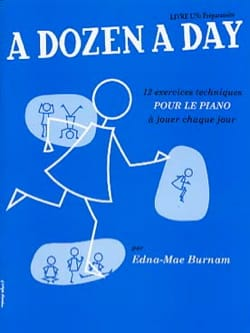 A Dozen A Day Volume 1 en Français Partition Piano - laflutedepan