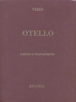 Otello. Relié VERDI Partition Opéras - laflutedepan