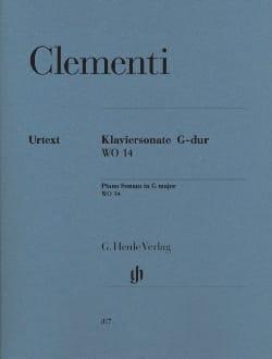 Sonate pour piano en Sol majeur WO 14 - laflutedepan.com