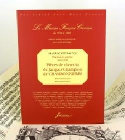 de Chambonnières Jacques Champion - Pièces de Clavecin Du Manuscrit Bauyn - Partition - di-arezzo.fr