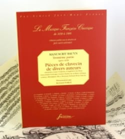 - 3rd Part Of The Bauyn Manuscript. EXHAUSTED - Sheet Music - di-arezzo.com
