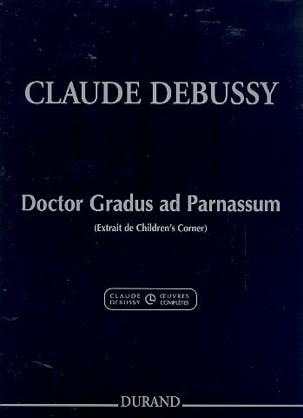 Claude Debussy - Doctor Gradus Ad Parnassum - Partition - di-arezzo.fr