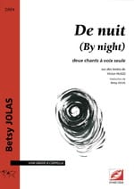 Betsy Jolas - De Nuit (By Night) - Partition - di-arezzo.fr