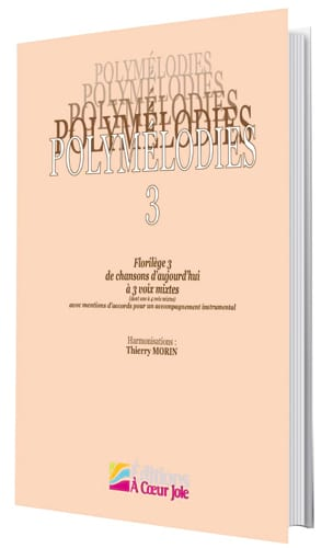 Polymelodies Volume 3 Mixed Voices - Sheet Music - di-arezzo.co.uk