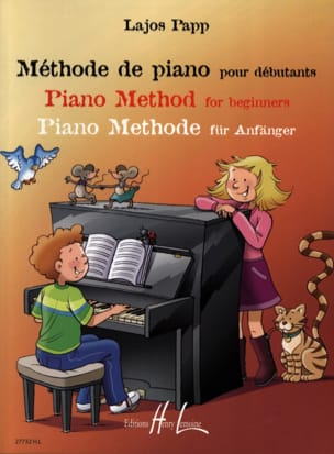 Lajos Papp - Méthode de Piano pour Débutants - Sheet Music - di-arezzo.co.uk