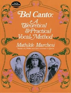Mathilde Marchesi - Bel Canto - Sheet Music - di-arezzo.com