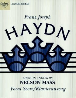 Joseph Haydn - Missa In Angustiis Nelson-Messe Hob 22-11 - Partition - di-arezzo.fr