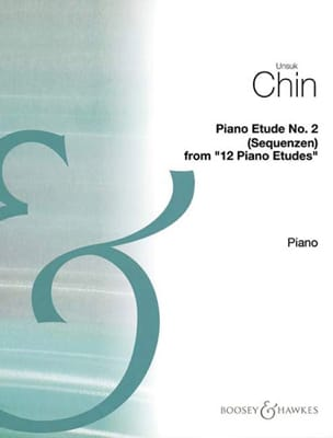 Etude 2 : Sequenzen Unsuk Chin Partition Piano - laflutedepan