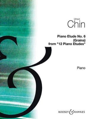 Unsuk Chin - Etude 6 - Partition - di-arezzo.fr