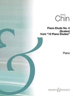 Unsuk Chin - Etude 4 : Scalen - Partition - di-arezzo.fr