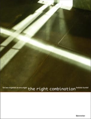 Liselotte Kunkel - The Right Combination. 4 Mains - Partition - di-arezzo.fr
