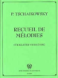 TCHAIKOWSKY - Series 2 Melodies. 4 Hands - Sheet Music - di-arezzo.com