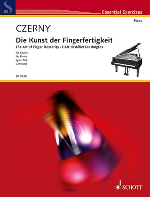 CZERNY - The Art of Untying the Opus 699 and 740 Fingers - Sheet Music - di-arezzo.com
