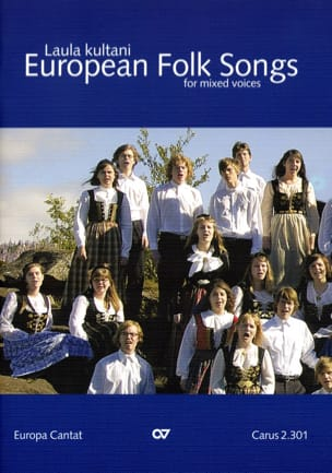 European Folk Songs. Voix Mixtes Partition Chœur - laflutedepan