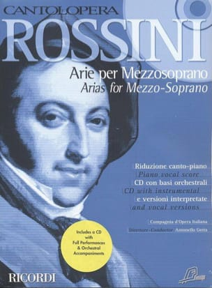 Gioachino Rossini - Arie Per Mezzosoprano - Sheet Music - di-arezzo.co.uk