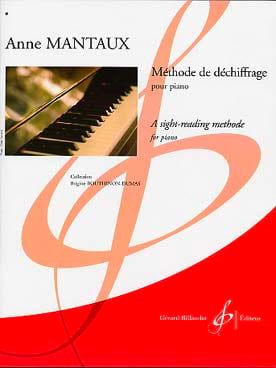 Méthode de Déchiffrage Anne Mantaux Partition Piano - laflutedepan